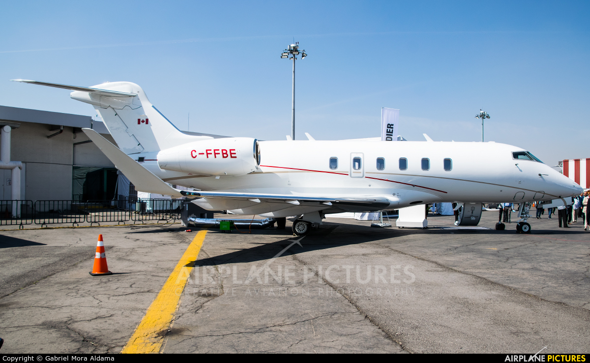 Private C-FFBE aircraft at Toluca Intl