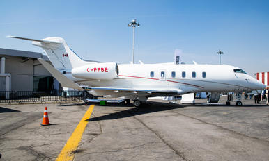 C-FFBE - Private Bombardier BD-100 Challenger 350 series