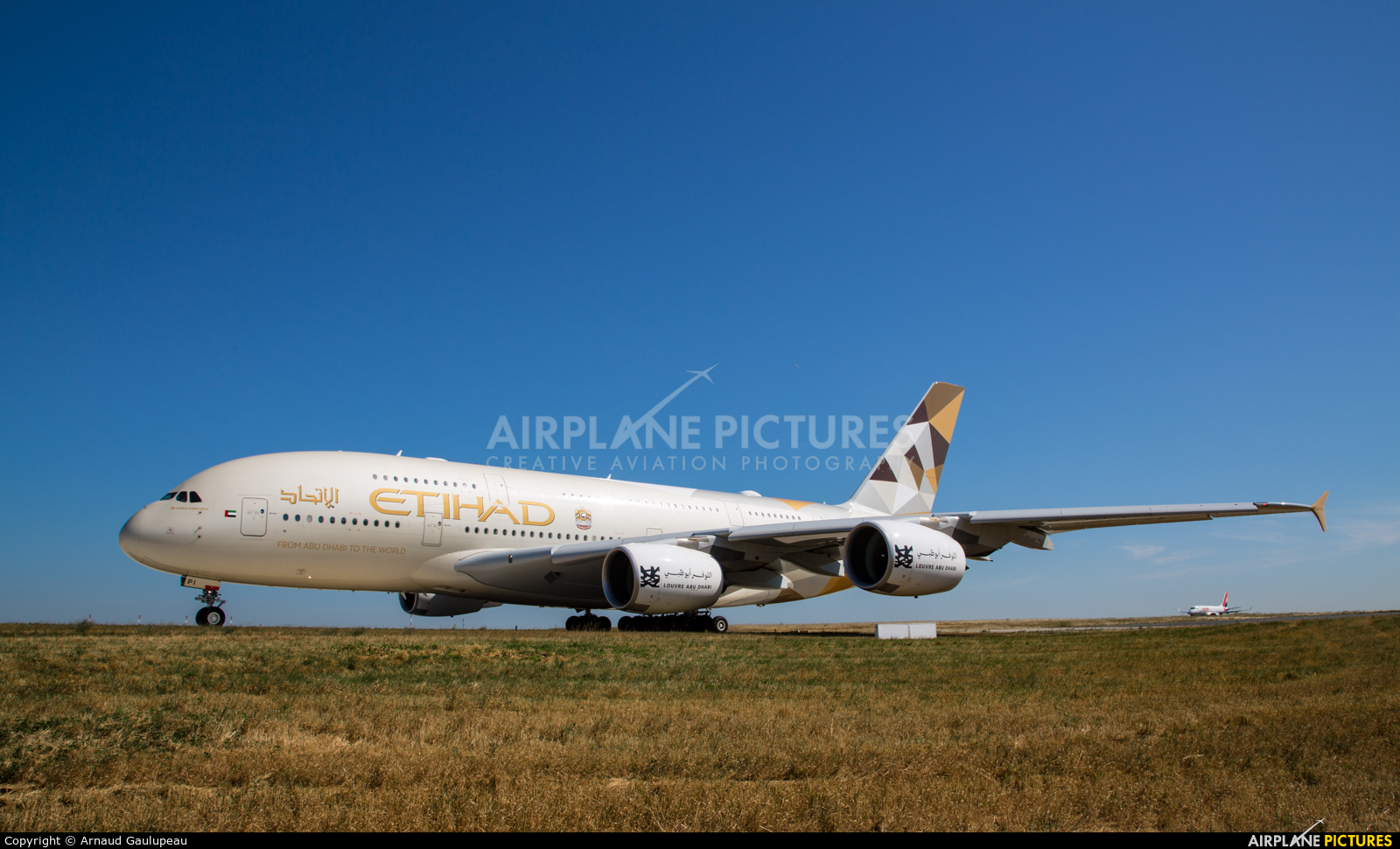 Etihad Airways A6-API aircraft at Paris - Charles de Gaulle