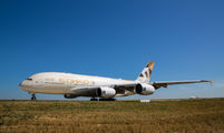 A6-API - Etihad Airways Airbus A380 aircraft