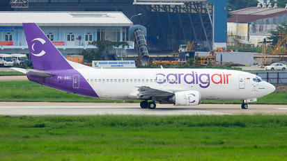 PK-BBC - Cardig Air Boeing 737-300F