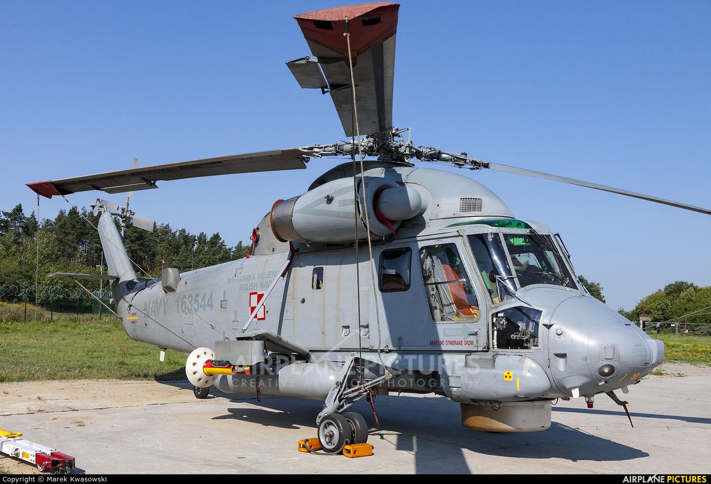 Poland - Navy 163544 aircraft at Gdynia- Babie Doły (Oksywie)