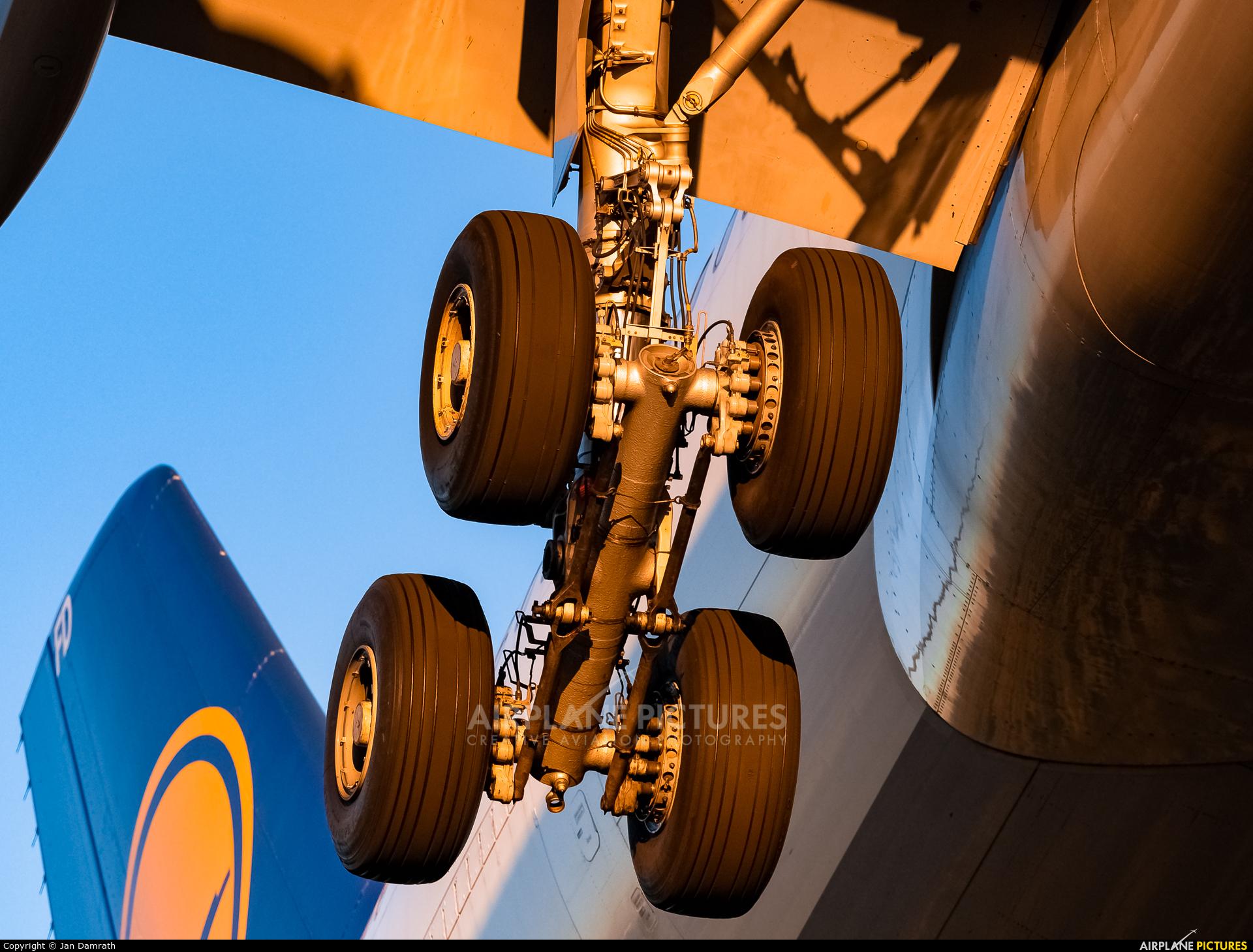 Lufthansa D-AIFD aircraft at Frankfurt