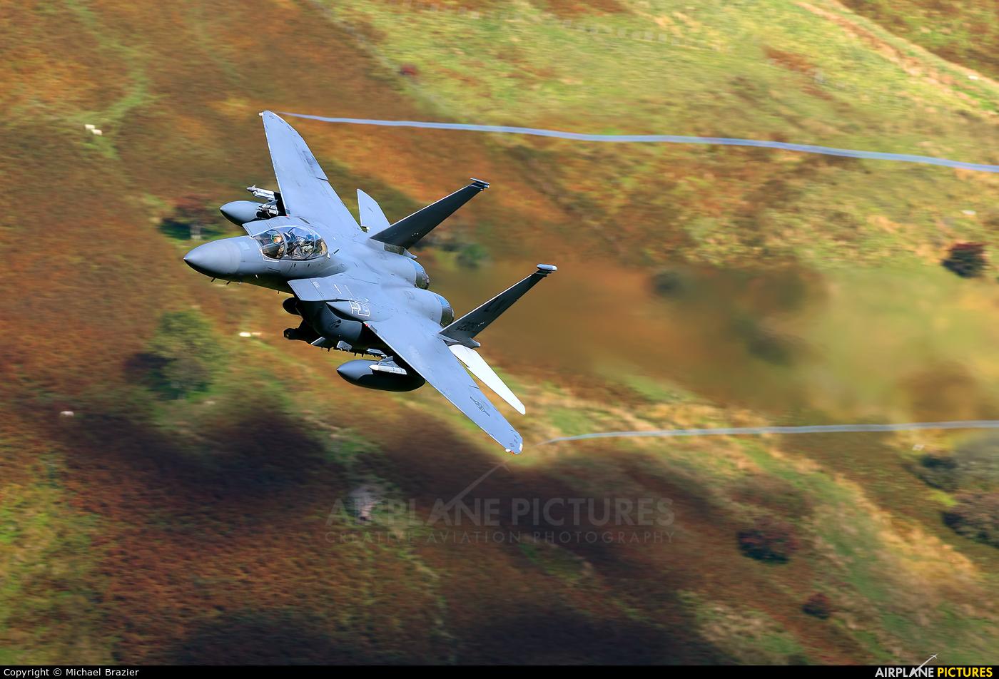 USA - Air Force 96-0205 aircraft at Machynlleth Loop - LFA 7