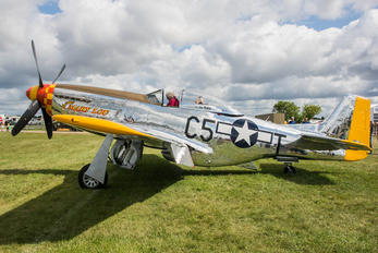 N8677E - Private North American P-51D Mustang