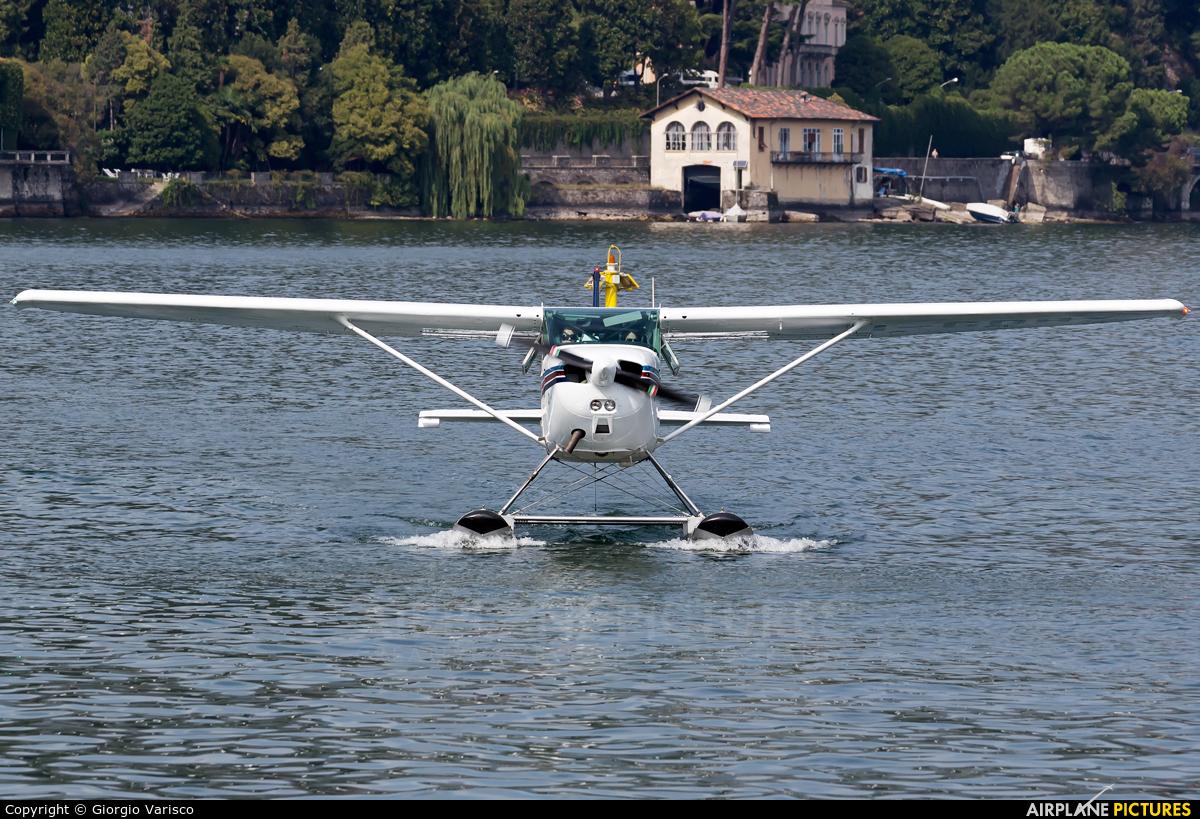 Aero Club Como I-GDRX aircraft at Como Idroscalo