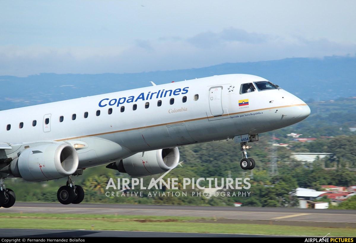 Copa Airlines Colombia HK-4454 aircraft at San Jose - Juan Santamaría Intl