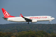 Atlasglobal Boeing 737-800 visited Zurich title=