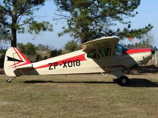 ZP-X018 - Private Piper PA-18 Super Cub
