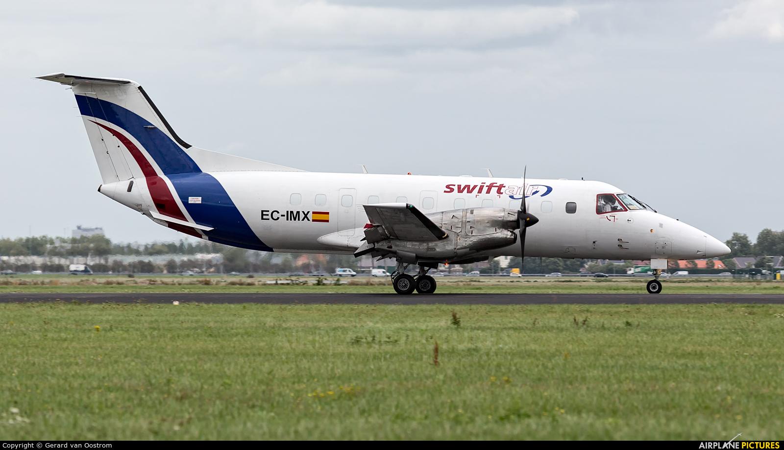 Swiftair EC-IMX aircraft at Amsterdam - Schiphol