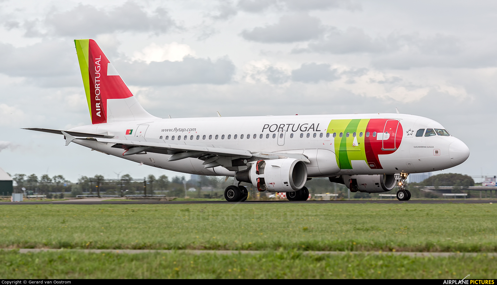TAP Portugal CS-TTS aircraft at Amsterdam - Schiphol