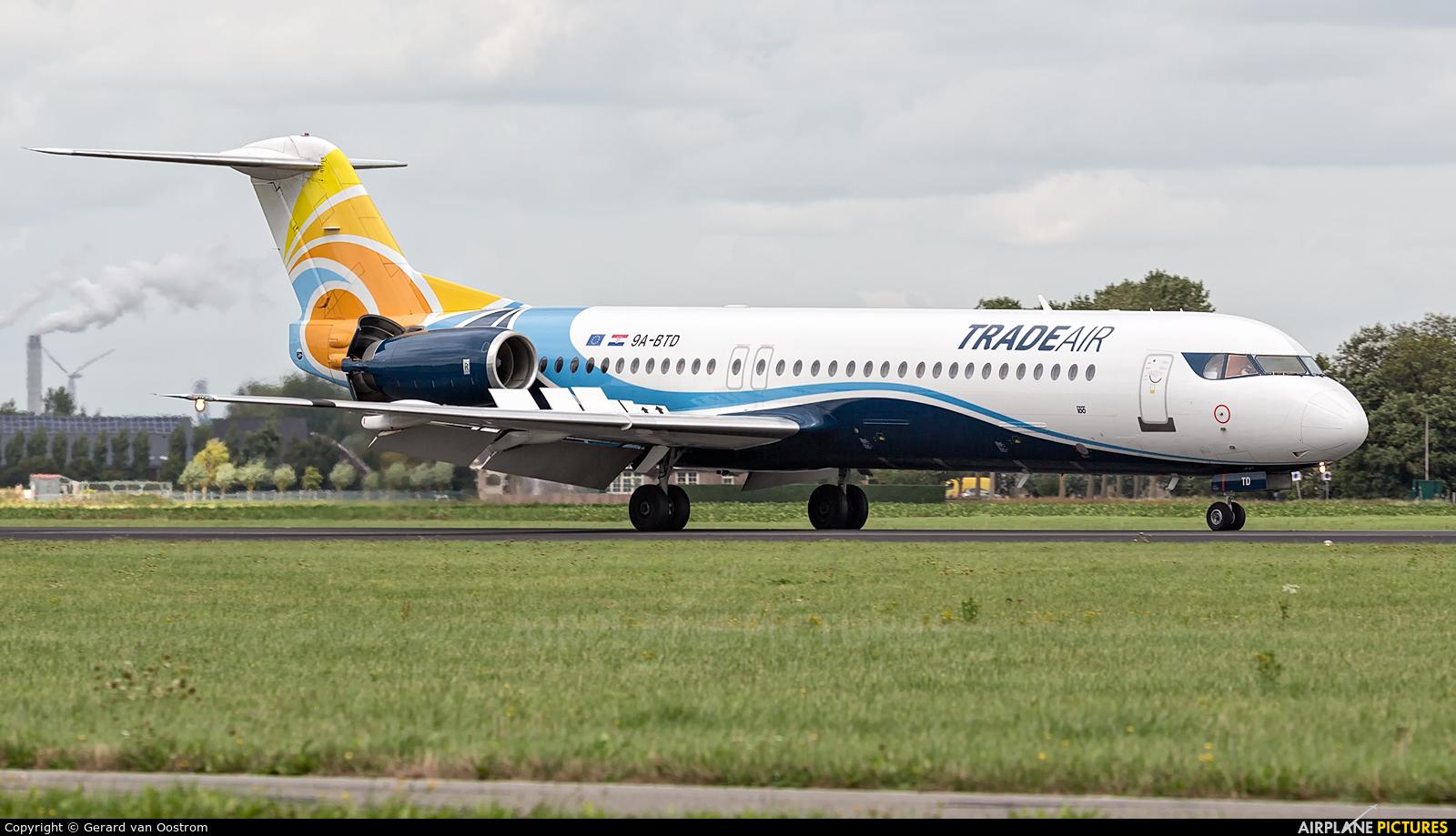 Trade Air 9A-BTD aircraft at Amsterdam - Schiphol