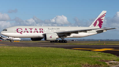 A7-BBA - Qatar Airways Boeing 777-200LR