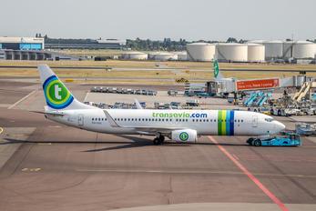 PH-HSG - Transavia Boeing 737-800