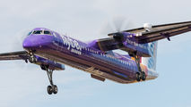G-JEDU - Flybe de Havilland Canada DHC-8-400Q / Bombardier Q400 aircraft