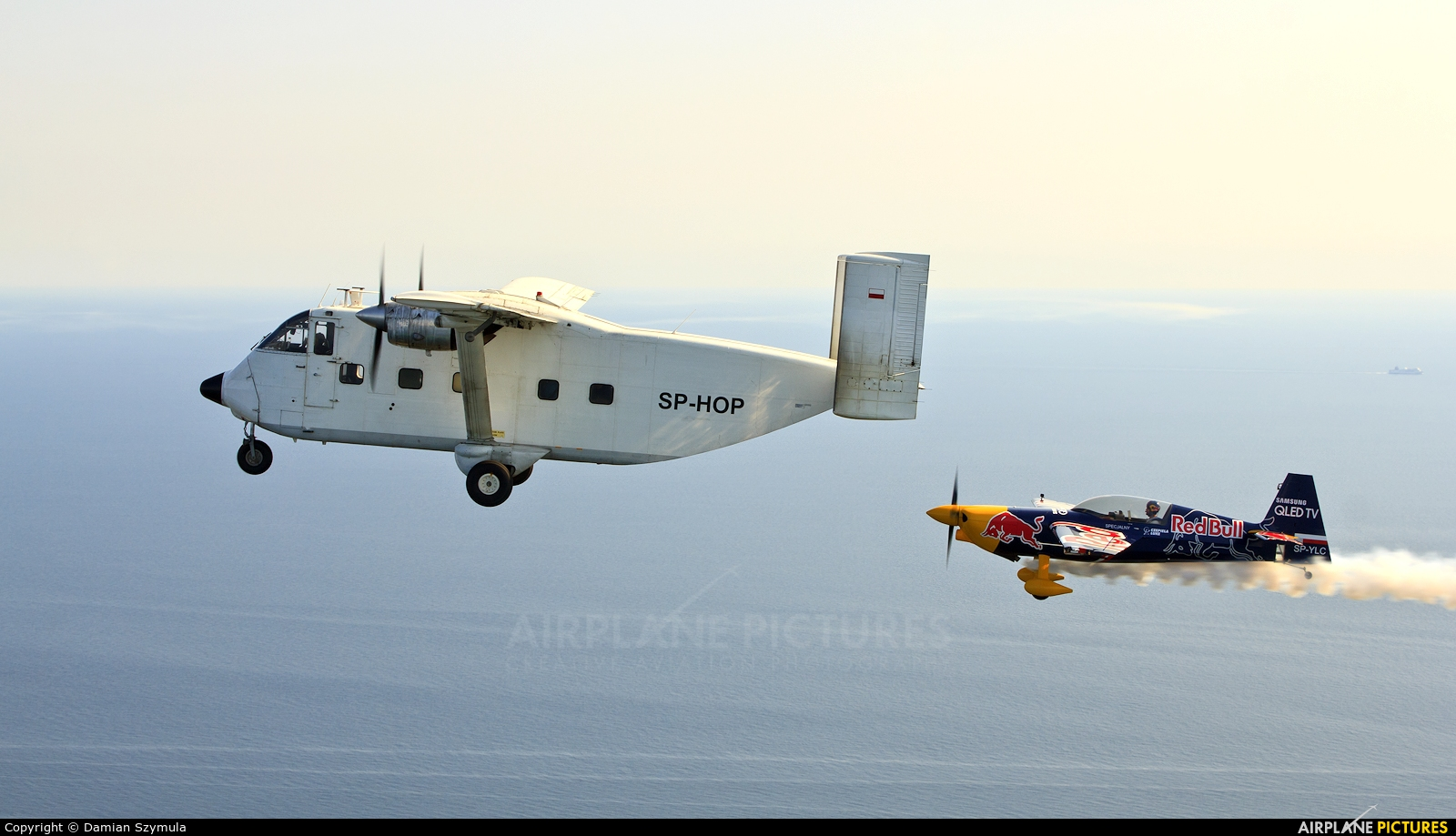 Private SP-HOP aircraft at In Flight - Poland
