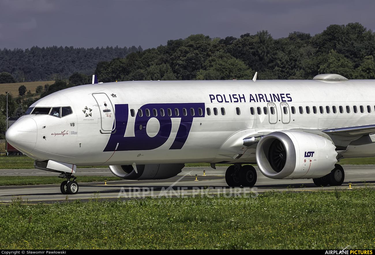 LOT - Polish Airlines SP-LVB aircraft at Kraków - John Paul II Intl