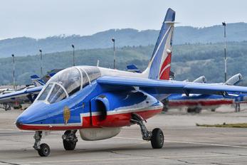 """E152 - France - Air Force """"Patrouille de France"""" Dassault - Dornier Alpha Jet E"""