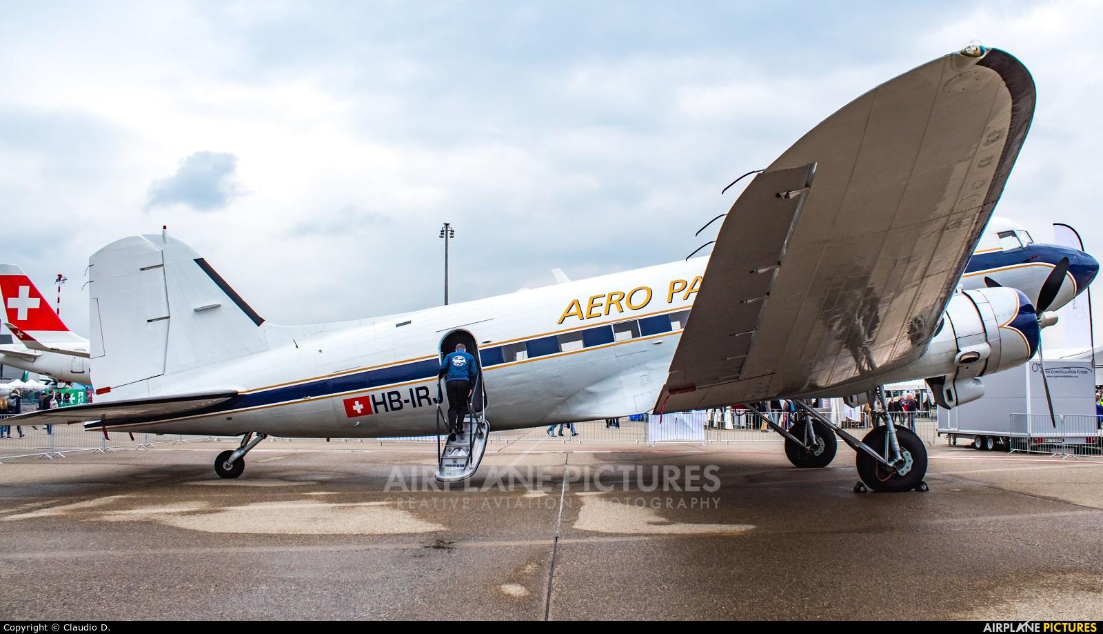 Breitling HB-IRJ aircraft at Zurich