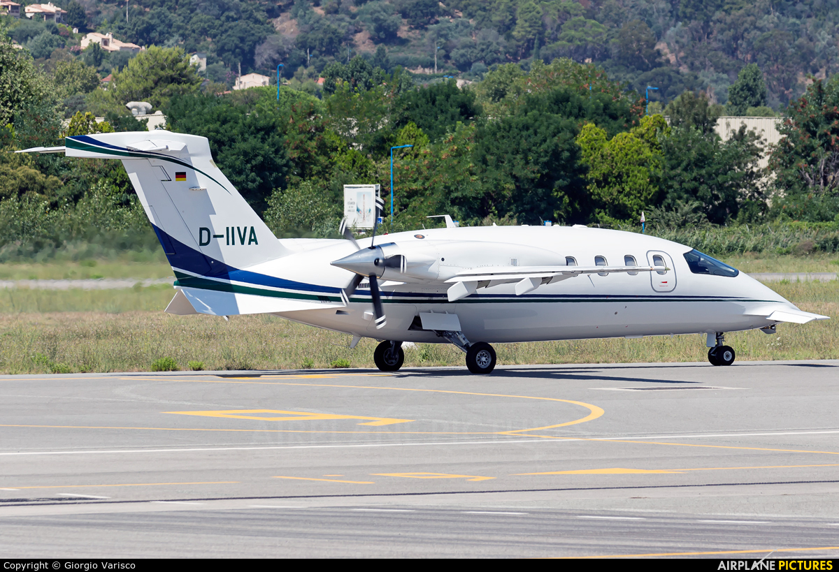 Private D-IIVA aircraft at Cannes - Mandelieu