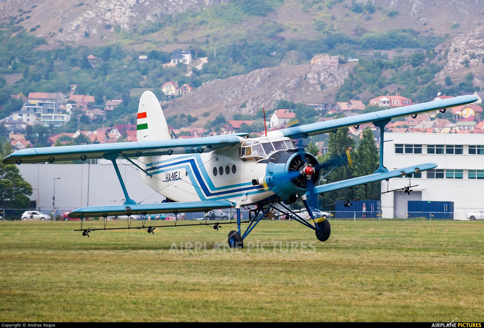 Private HA-MEJ aircraft at Budaors