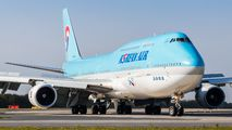HL7631 - Korean Air Boeing 747-8 aircraft