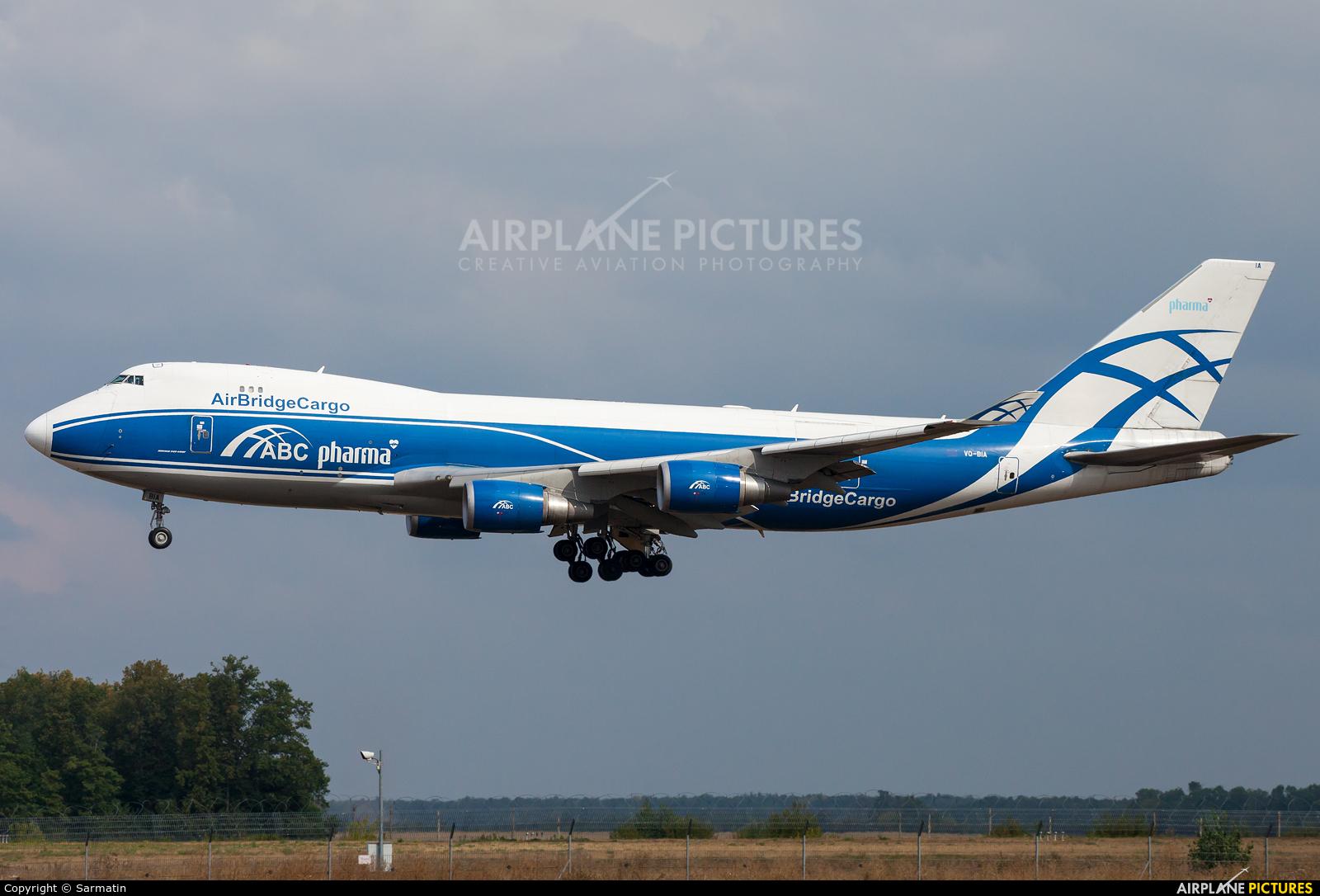 Air Bridge Cargo VQ-BIA aircraft at Kazan