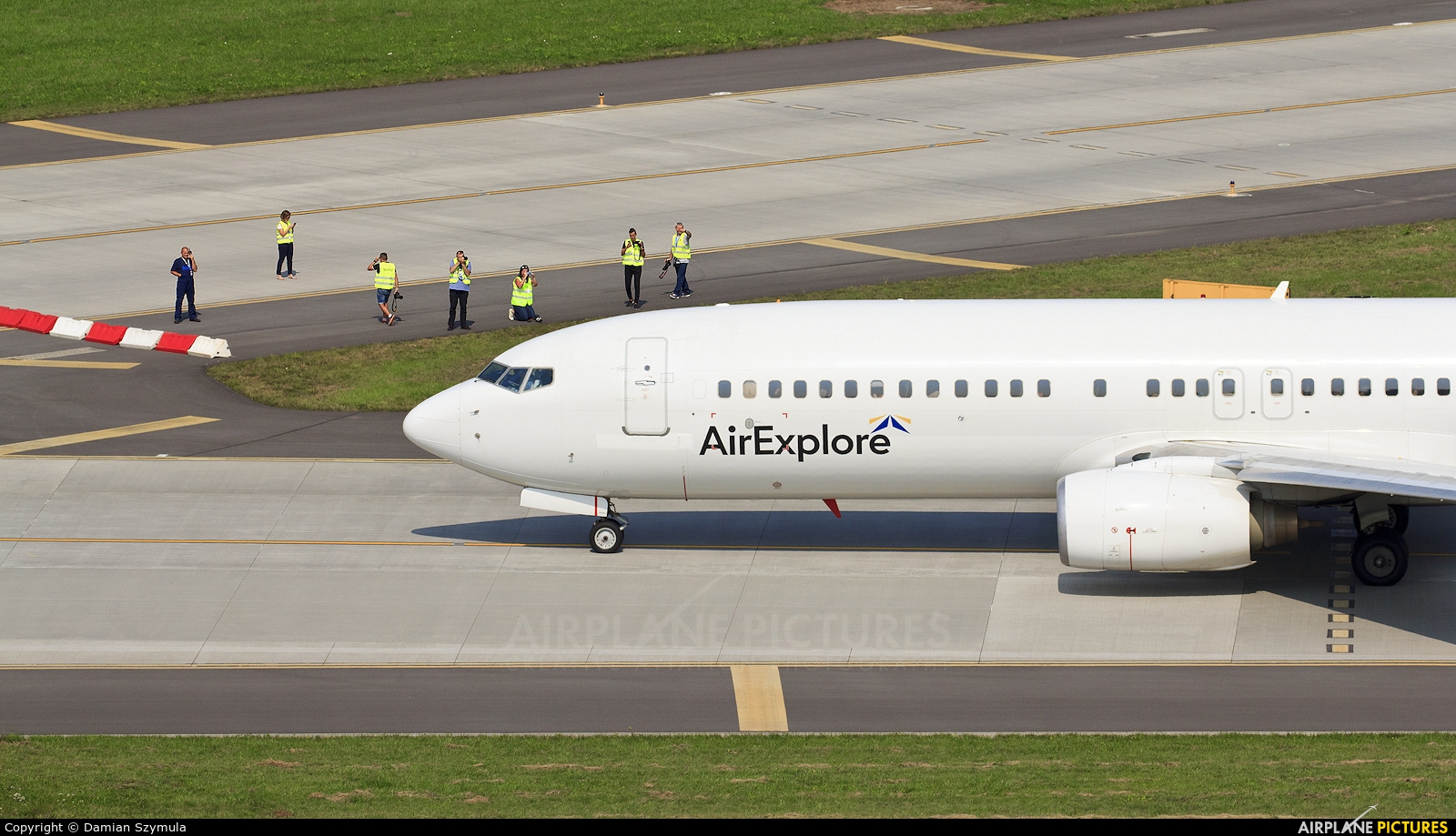 Air Explore OM-IEX aircraft at Kraków - John Paul II Intl