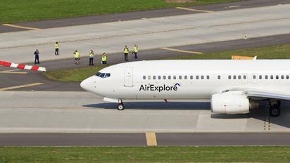OM-IEX - Air Explore Boeing 737-800