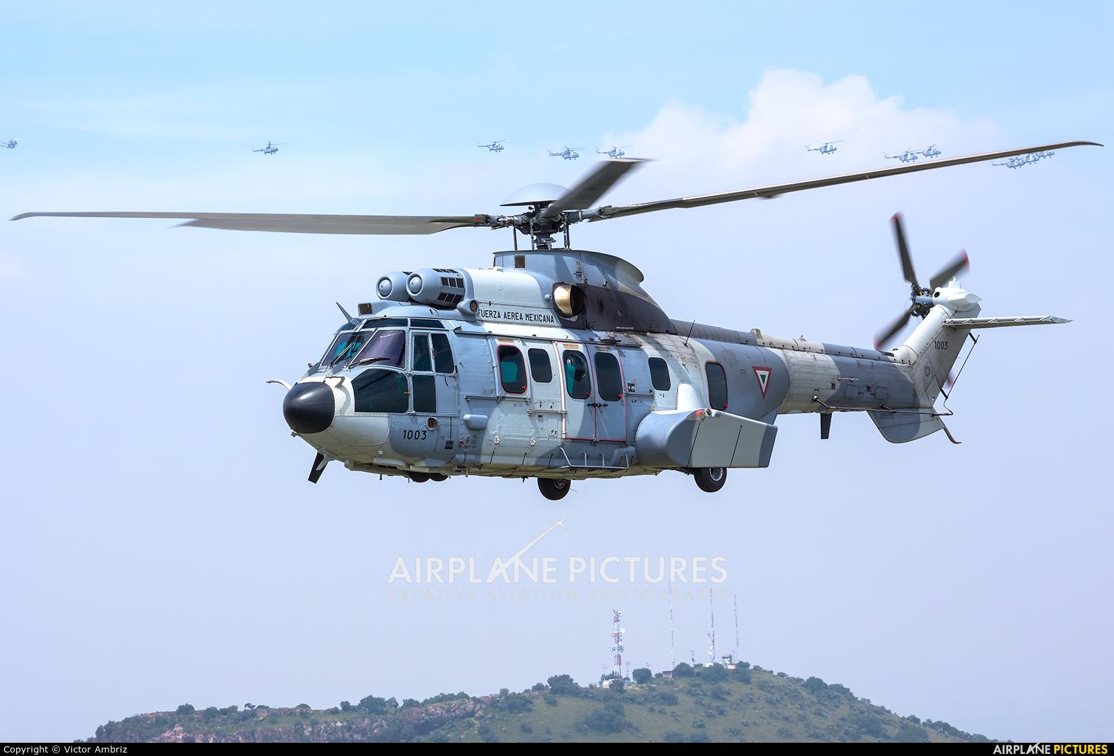 Mexico - Air Force 1003 aircraft at Santa Lucia AB