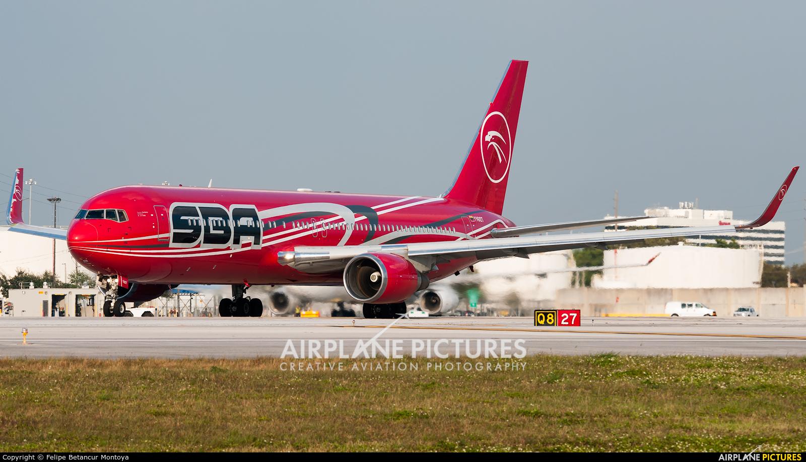 Santa Barbara Airlines YV612T aircraft at Miami Intl