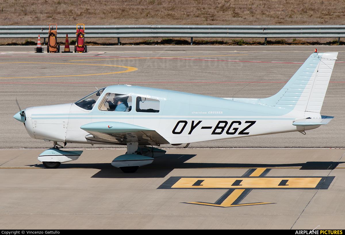 Private OY-BGZ aircraft at Bari