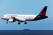 OO-SNL - Brussels Airlines Airbus A320 aircraft