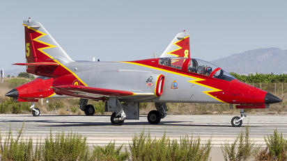 E.25-63 - Spain - Air Force : Patrulla Aguila Casa C-101EB Aviojet