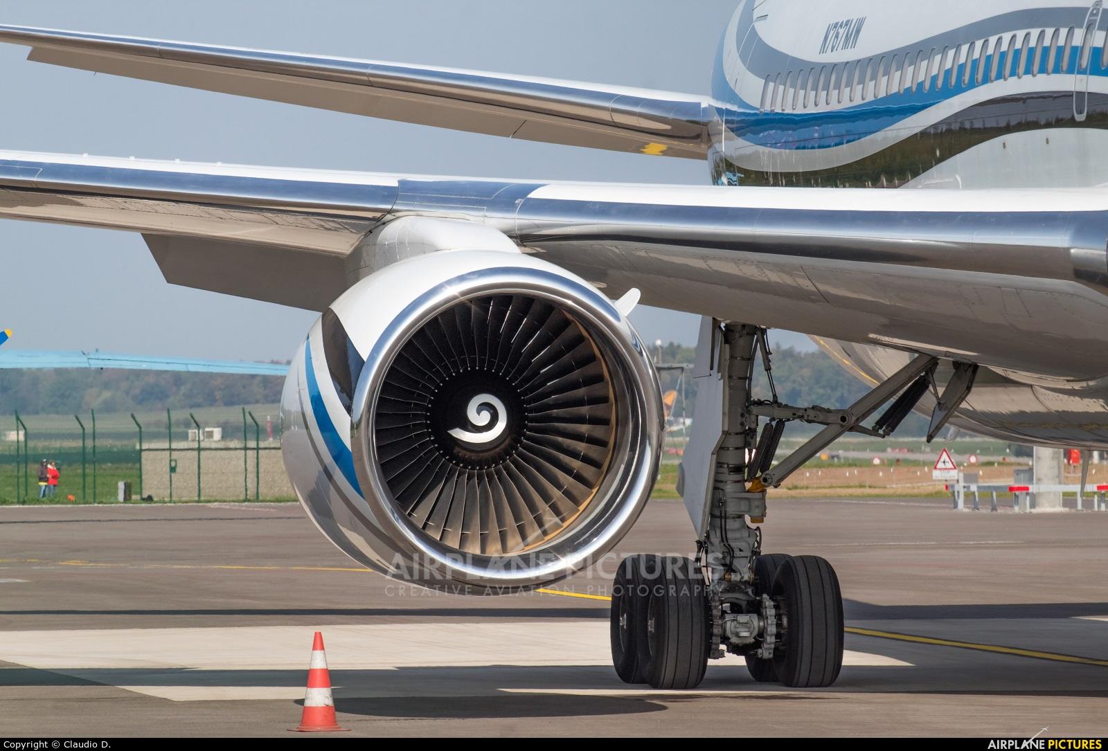 MLW Air N767MW aircraft at Zurich