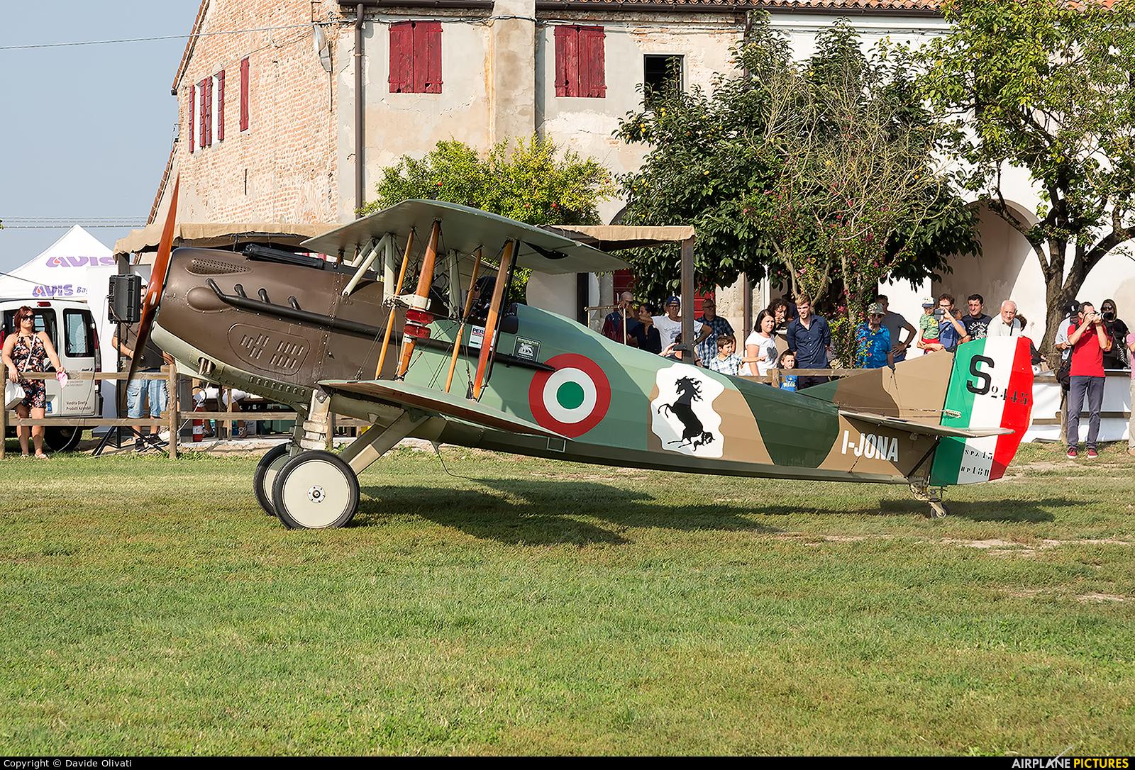 Private I-JONA aircraft at Off Airport - Italy