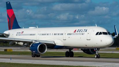N347DN - Delta Air Lines Airbus A321