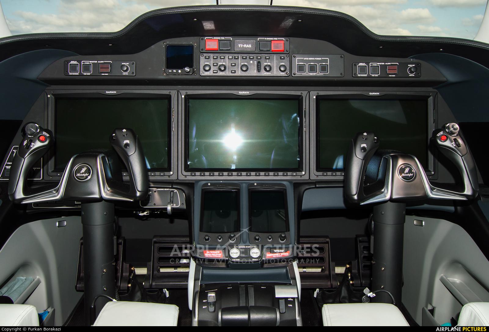 Honda Aerospace T7-RAS aircraft at Istanbul - Ataturk