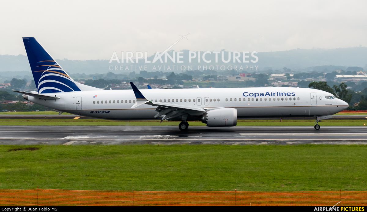 Copa Airlines HP-9901CMP aircraft at San Jose - Juan Santamaría Intl