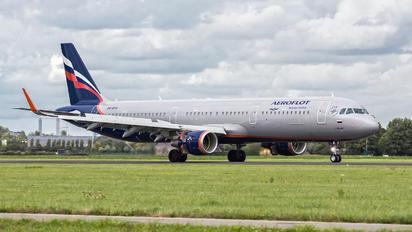 VQ-BTU - Aeroflot Airbus A321
