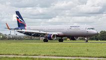 VQ-BTU - Aeroflot Airbus A321 aircraft