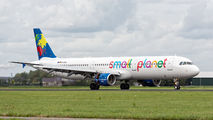 D-ASPD - Small Planet Airlines Airbus A321 aircraft