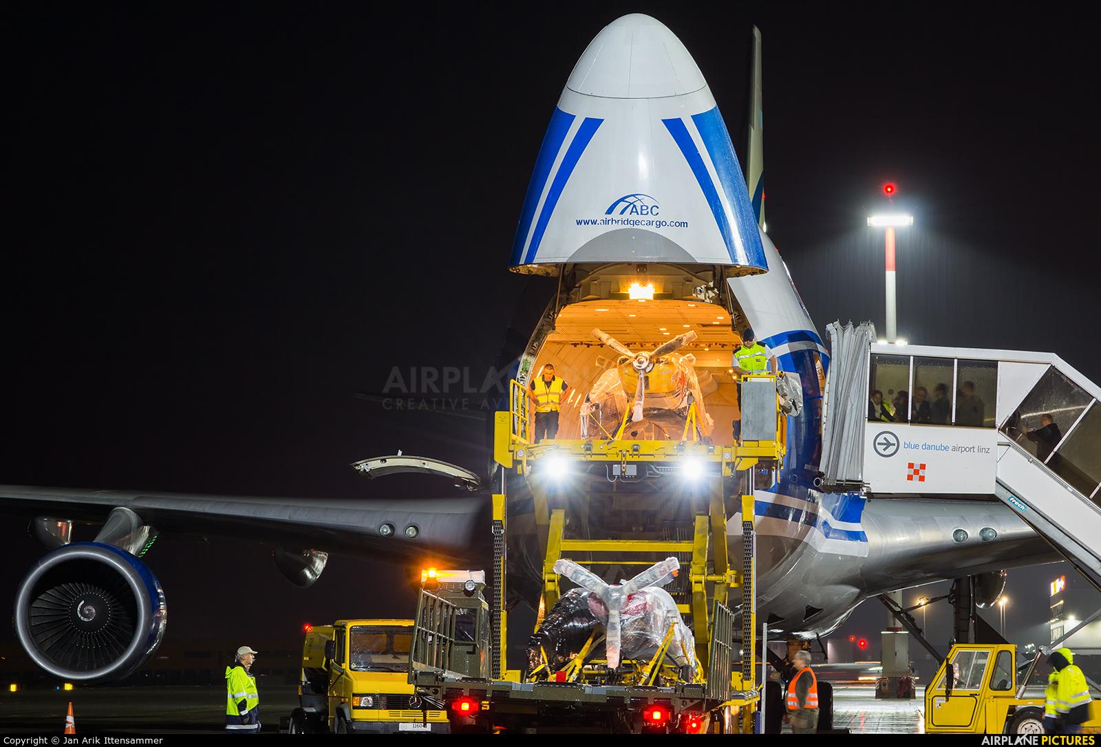 Air Bridge Cargo VQ-BIA aircraft at Linz