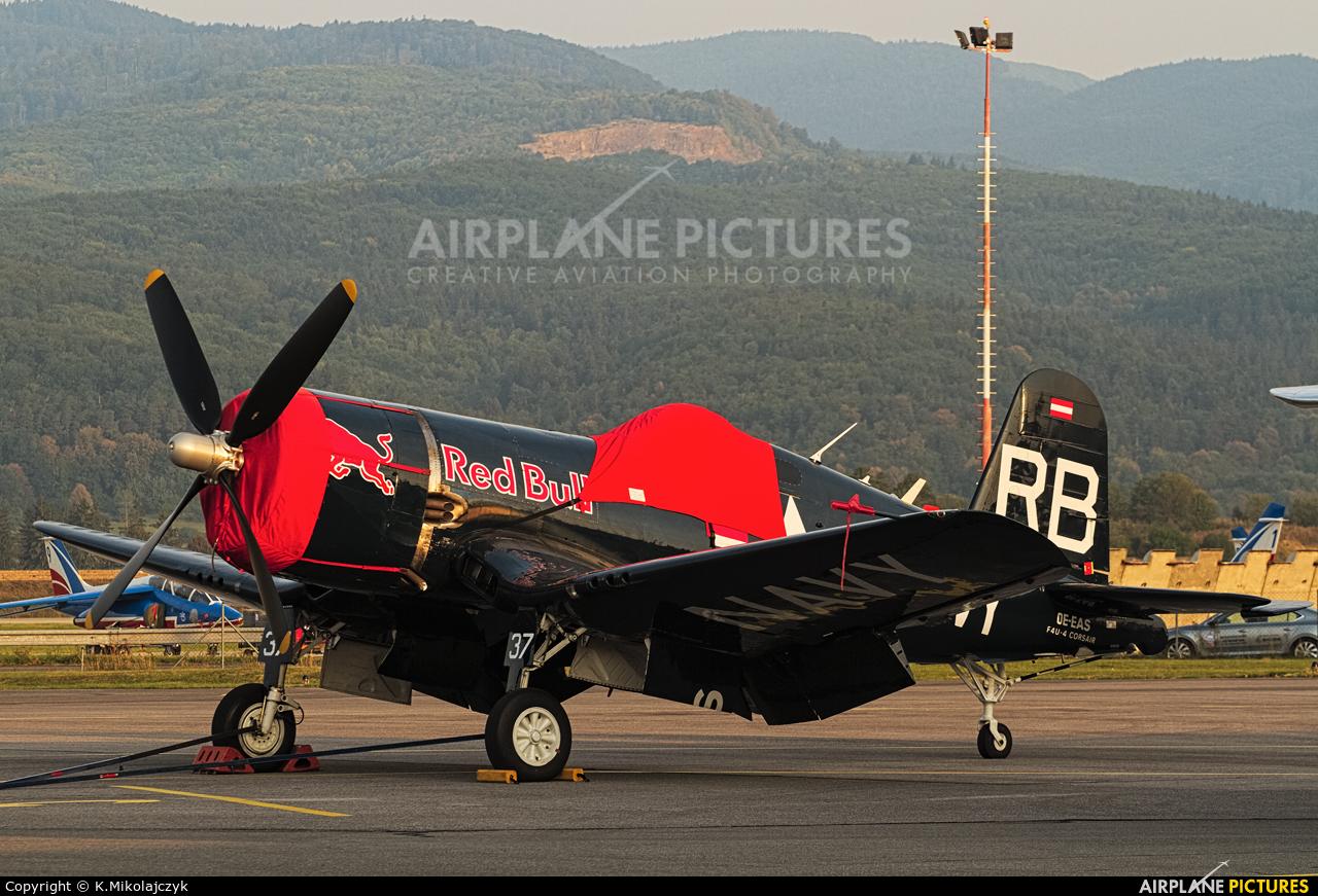 Red Bull OE-EAS aircraft at Sliač