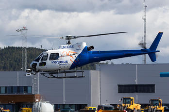 LN-OSE - Pegasus Helicopter Aerospatiale AS350 Squirrel HT.1 & 2