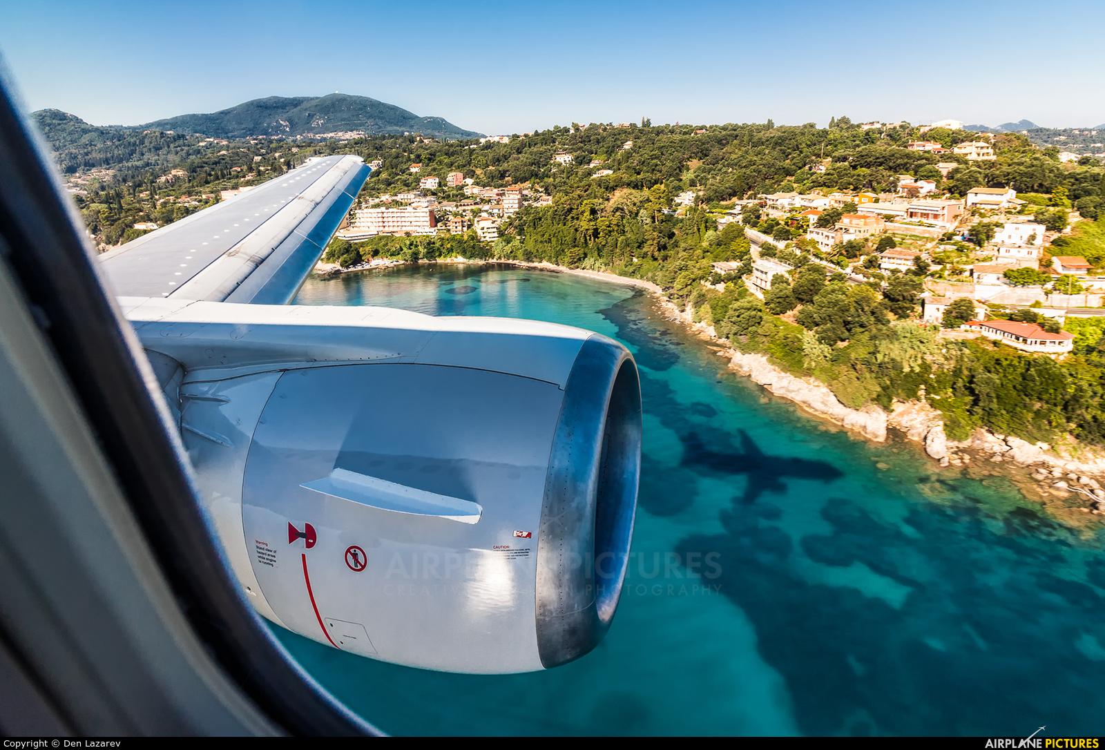 Ellinair SX-MAH aircraft at Corfu - Ioannis Kapodistrias