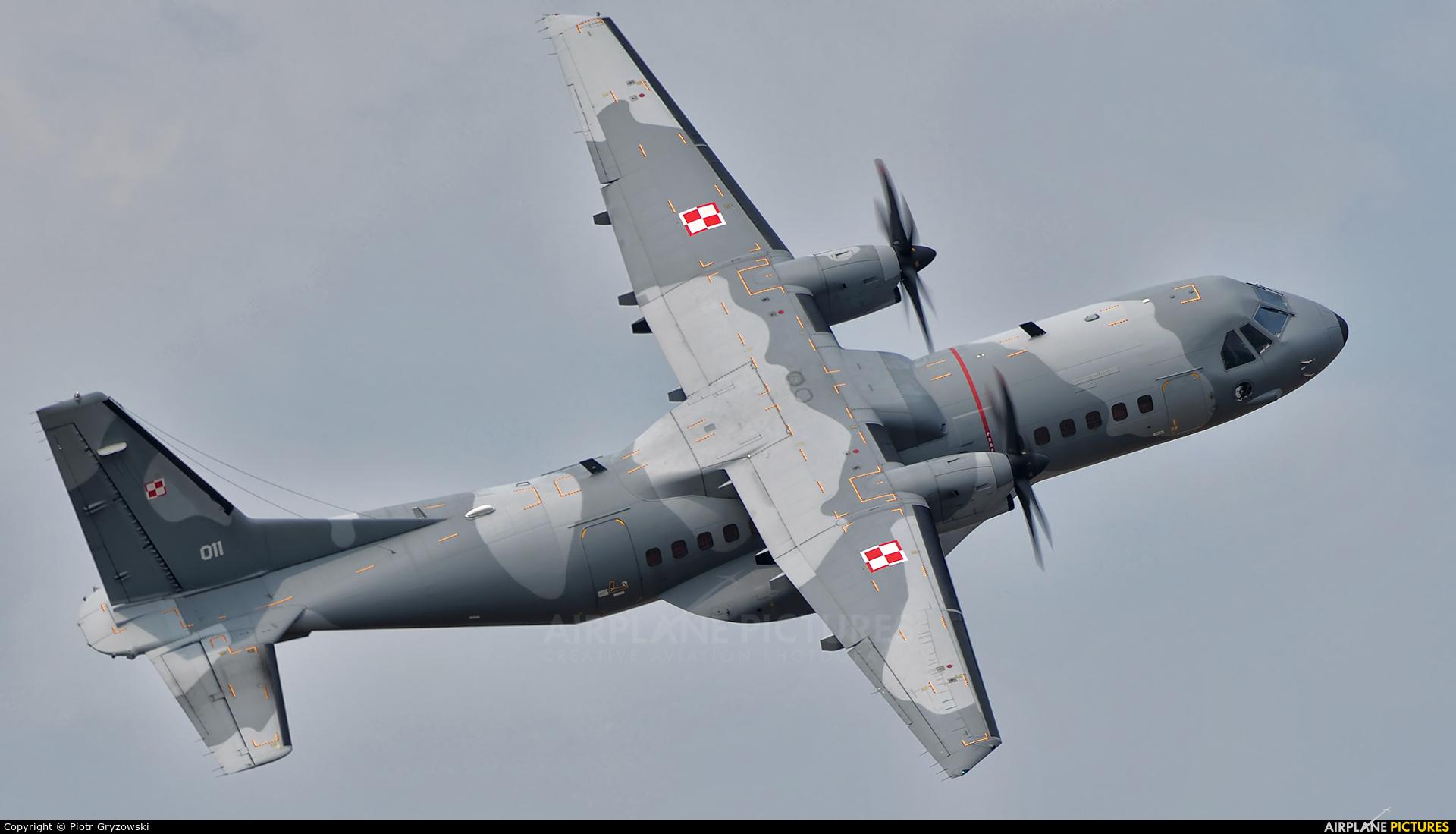 Poland - Air Force 011 aircraft at Sliač