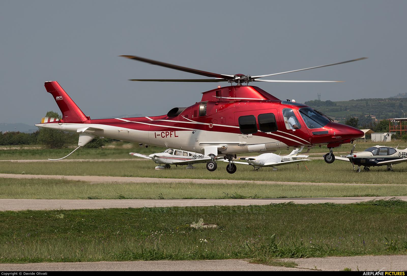 Private I-CPFL aircraft at Verona - Boscomantico