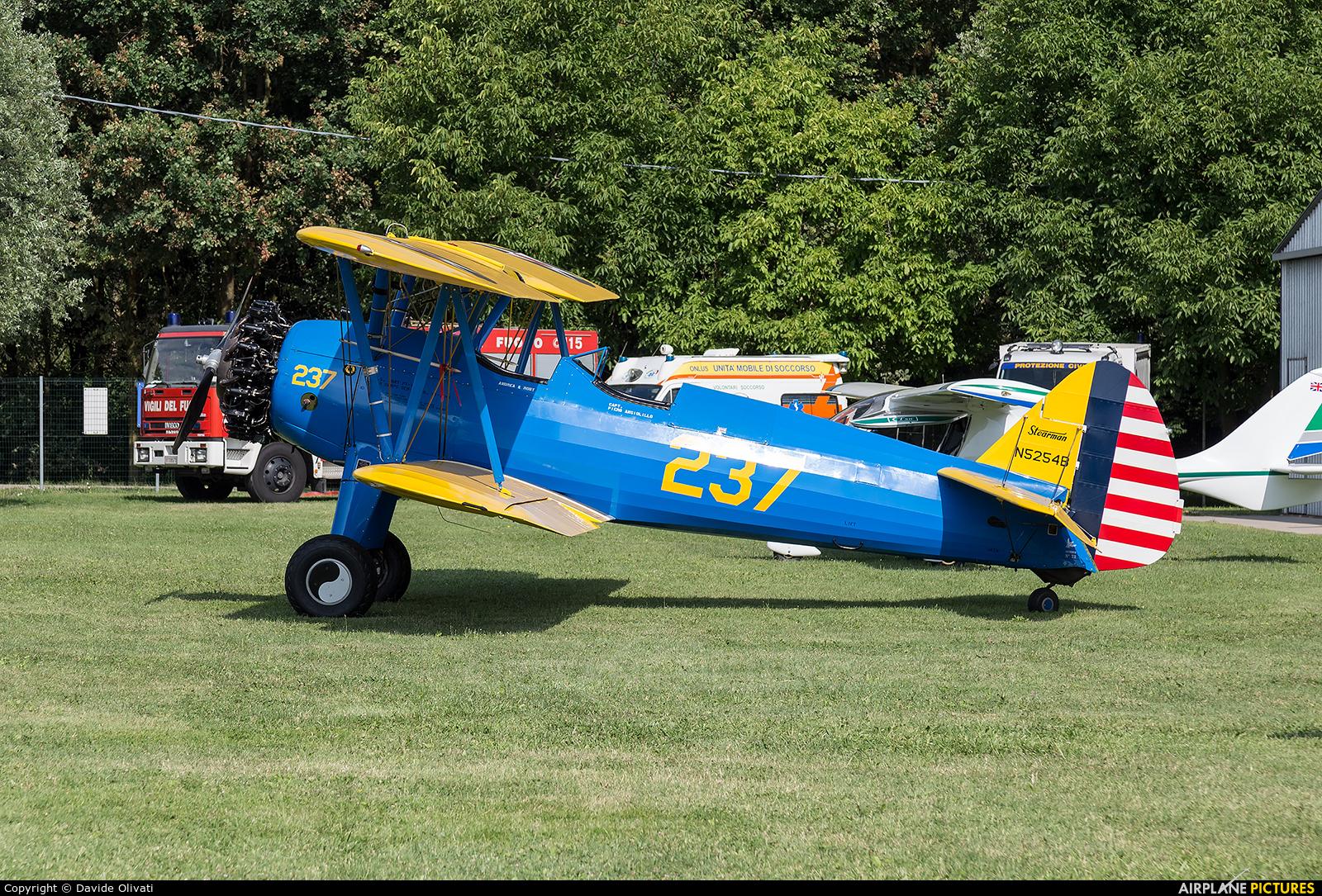 Private N5254B aircraft at Montagnana