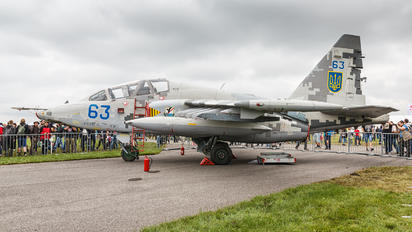 63 - Ukraine - Air Force Sukhoi Su-25UB